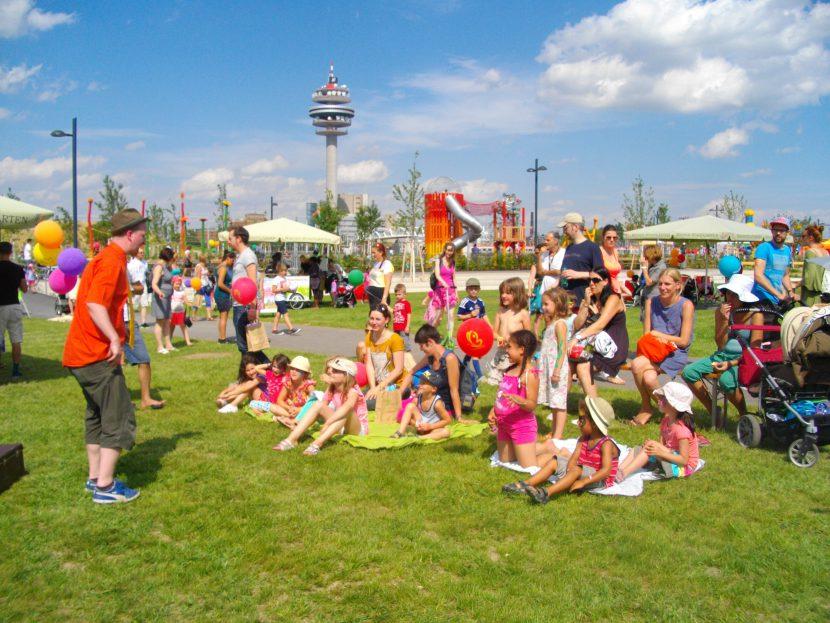 Helmut-Zilk-Park Eröffnung